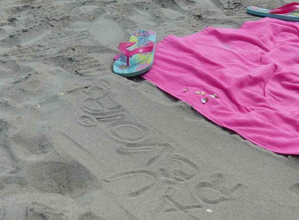beach towels sand free
