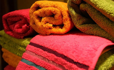 How to wash beach towels